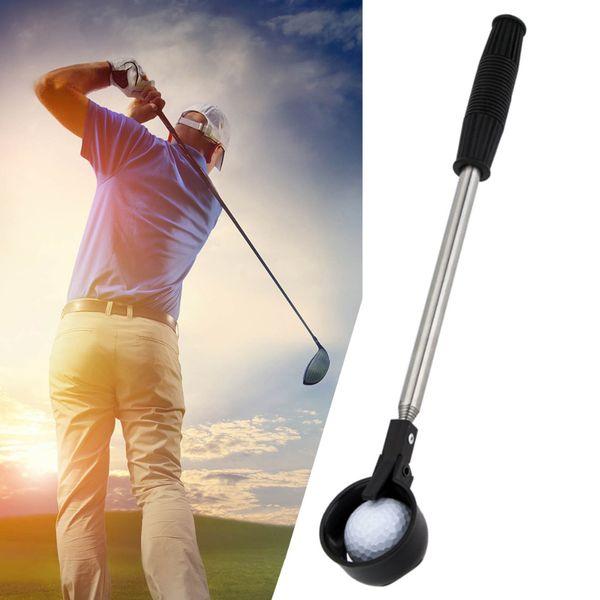 Retractable Shaft Retriever Scoop Golf Ball Pick Up Tool Stick Drop Shipping