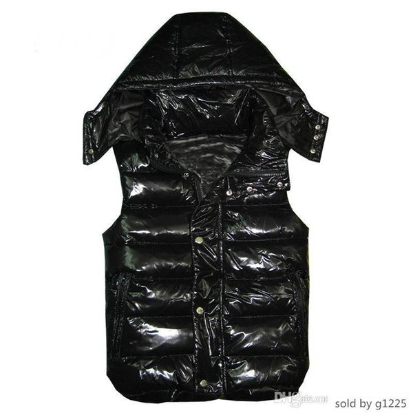 Men and women winter vest feather jackets womens casual vests mens down coat outer wear size:XS-XXSL