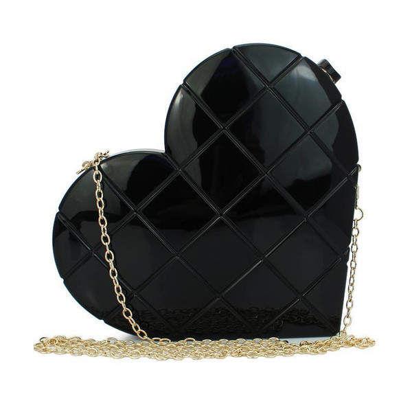 Square Acrylic With Handbag Evening Bag Clutch For Party Purse Two Color Available (c186)