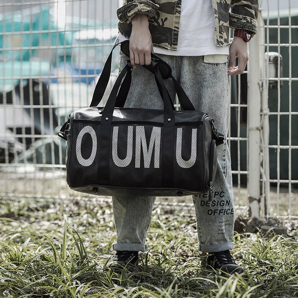 Bolso del viaje del bolso de la letra de la tendencia del color de la moda de Tidog
