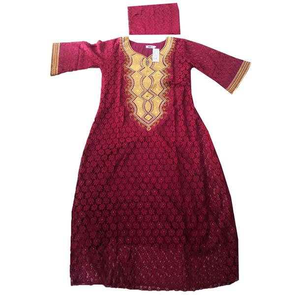 MD африканское кружевное платье для женщин с вышивкой длинные платья плюс размер женское платье традиционная африканская одежда для женщин