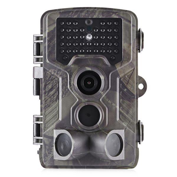 Cámara de caza por infrarrojos con visión nocturna 1080P HD Cámara de caza digital Trampas fotográficas de 16 MP Dispositivo de exploración HC - 800A
