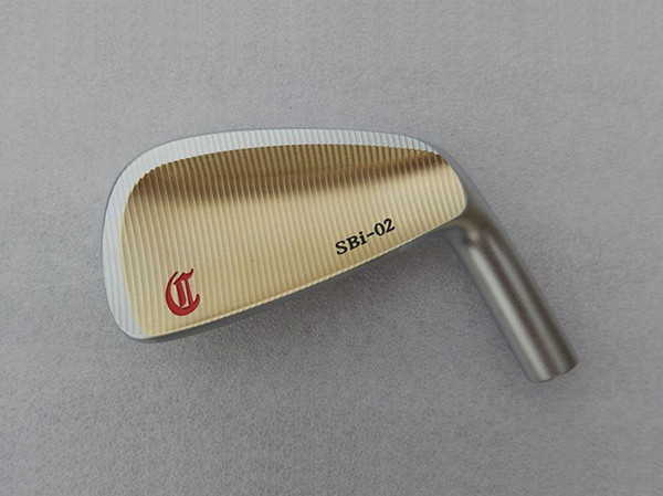 Brand New CRAZY SBi-02 Iron Set Gold CRAZY Golf Forged Irons Golf Clubs 4-9P Steel Shaft With Head Cover