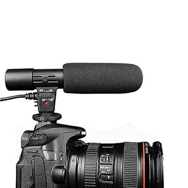 Micrófono profesional para estudio de grabación de MIC-01 video digital DV Cámara Sony