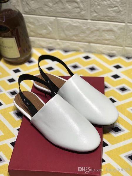 Mulheres Sapatilhas Sapatos de Couro de Luxo Sapatos Casuais Mesh Up Moda Sapatos de Cor Mista Sapatilha Em Venda Tamanho 35-42 hs190703