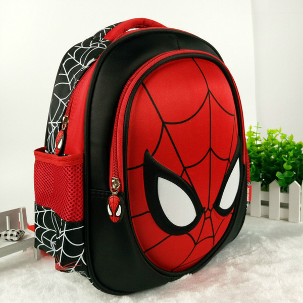 2ae412cb465c Hot 3D Stereo Children'S Boy Spider Man Cute New School Bag Boys Backpack  Kids Children Cartoon School Bags Backpacks Baby Drawstring Backpack Black  ...
