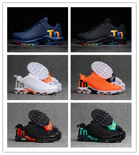 Original Mens Mercurial Tn Running Shoes designer Rainbow Colorfull sneakers Chaussures Hombre Tn Man Sport Athletic Trainers size 40-47