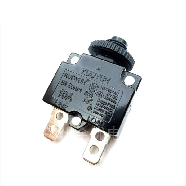 top popular Taiwan KUOYUH Overcurrent Protector Overload Switch 88 Series 10A 2021