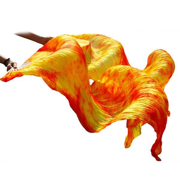 colore rosso giallo della miscela