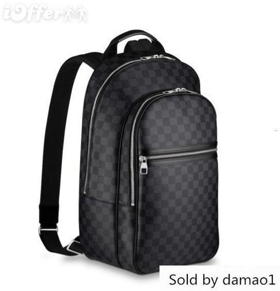 N58024 Canva Laptop Satchel Bolsa de Ombro Bolsa Mochila Duffle Bags Estilo de vida bagagem
