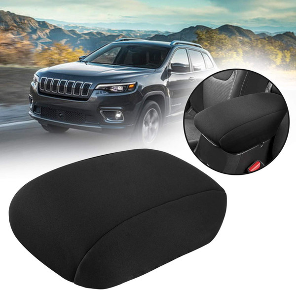 best selling Console Cover for Jeep Grand Cherokee 2011~2018 Neoprene Center Console Armrest Cover