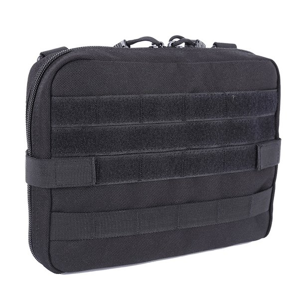 Outdoor Military MOLLE Admin Pouch Tactical Pouch Multi Medical Kit Bag Utility For Camping Walking Hunting #369158