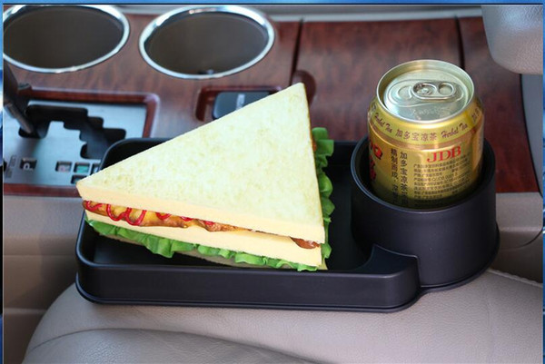 best selling Universal Folding Car Cup Holder Drinks Holders Auto Seat Storage Box For Hummer H1 H2 H3 H3T H5 H6