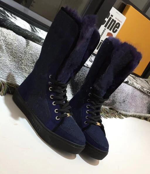 High-top shoes canvas fashion platform boots ladies tie casual fashion warm women's boots size 35 - 42
