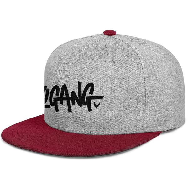 2019 Trends new listing flat adjustableLogan Paul Maverick Design Logo rock punksummer casual fashion wild baseball cap bucket sun hat cad
