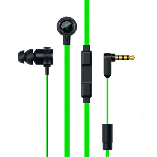 Hammerhead V2 Pro Auriculares intrauditivos para juegos Controles de volumen Auriculares con auriculares con micrófono para teléfono PK Razer