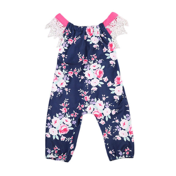 Floral Toddler Kids Romper Summer Sleeveless Backless Lace Jumpsuit Newborn Baby Girls Sunsuit Children Clothing 0-24M Floral Toddler Kids Romper Summer Sleeveless Backless Lace Jumpsuit Newborn Baby Girls Sunsuit Children Clothing 0-24M