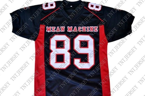 wholesale Cheeseburger #89 Mean Machine Longest Yard Football Jersey Black Stitched Custom any number name MEN WOMEN YOUTH Football JERSEY