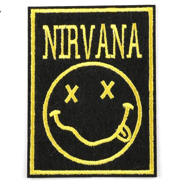 Rock and Roll Music Band AC / DC Slipknot Patch Ricamato Ferro Sulla Patch Da Cucire Vestiti Applique Patch Adesivi Accessori Abbigliamento