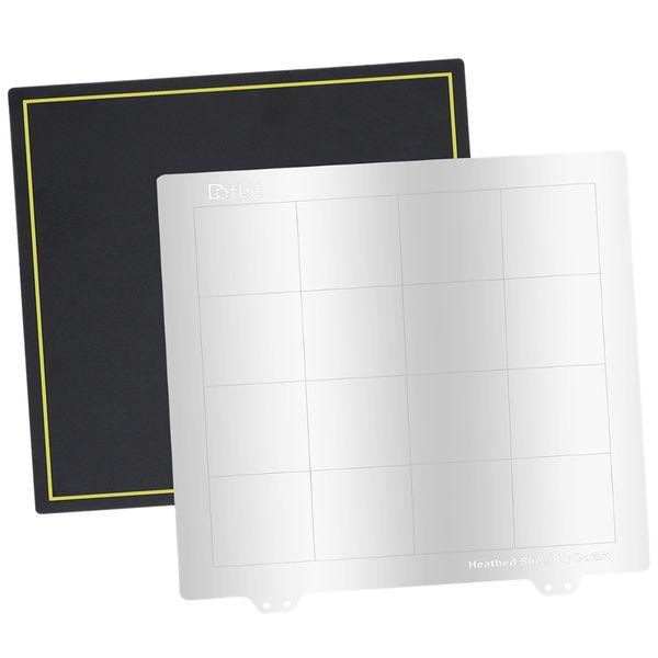 235 mm spring steel sheet heat bed w/ magnetic sticker for ender...