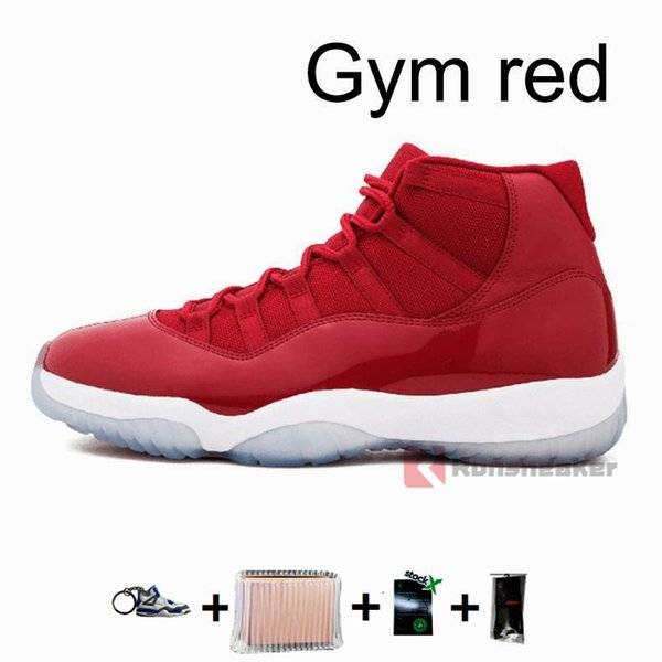 11s-Gym red