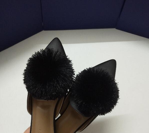 Sexy Vintage de luxe de femmes Chaussons cuir véritable en cuir véritable mode Sandales Livraison gratuite Chaussures pour femmes Chaussures Femme en peau de mouton