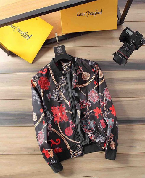 2019 Mens 2019ss roupas de luxo jaqueta de grife dos homens jaqueta casaco dos homens jaquetas de grife m-3xl e8