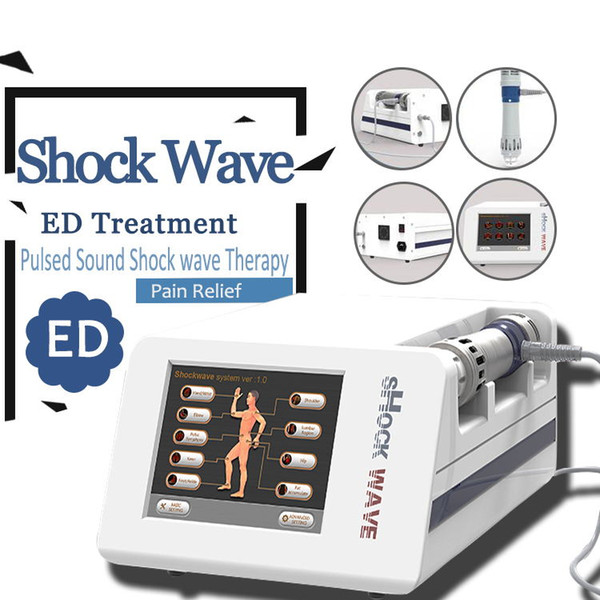 ED treat Physical Pain Therapy System Acoustic Shock Wave Therapy Equipment Extracorporeal Shock wave Machine For Spot Injury Treatment