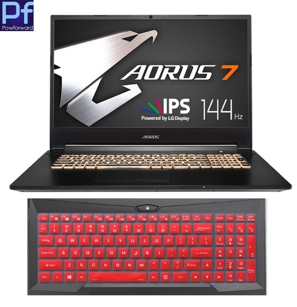 "For Gigabyte AORUS 7 NA-7US1021SH 17"" 17.3'' AORUS7 series Notebook 17.3 inch laptop Keyboard Cover Protector Skin"