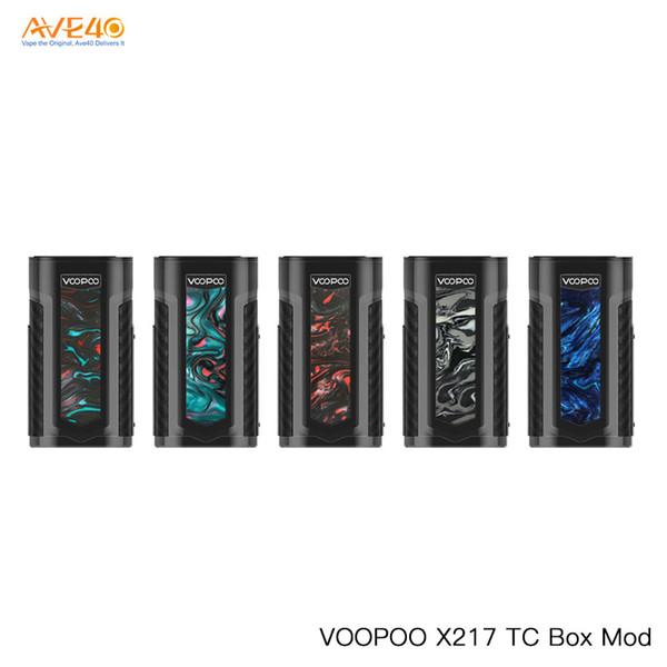 Original Voopoo X217 Mod 217 W Vape Box Mod Poder por Dual 18650/21700 bateria v Voopoo Drag 2