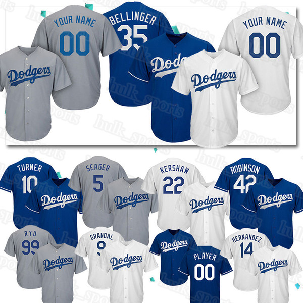 Özel Los Angeles 22 Clayton Kershaw formaları Dodgers 35 Cody Bellinger 10 Justin Turner forması 13 Max Muncy erkekler qualityBaseball Formalar top