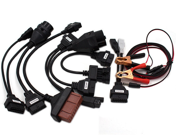 best selling Full Set 8 Car Cables For TCS CDP Pro Cable