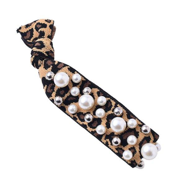 Frauen-nette Zusatz-beiläufiger Pferdeschwanz-Halter, der elastischen dekorativen Ball tägliches Allgleiches Geschenk-Partei-Jahrestags-Haargummi verknotet
