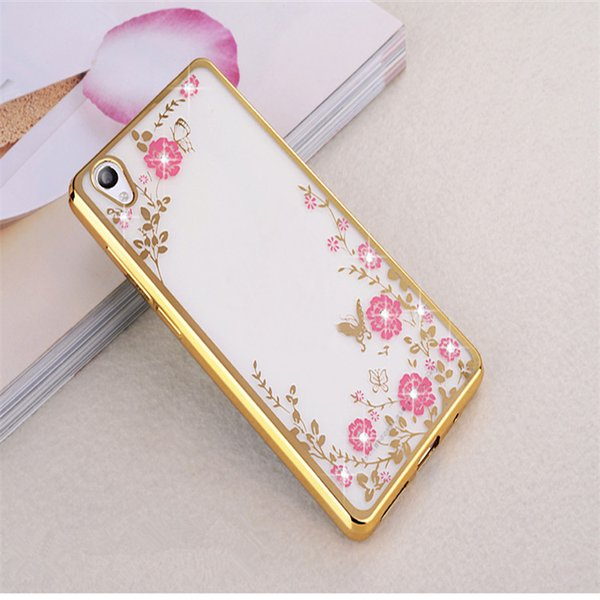 OPPO R11S mobile phone shell R11plus protective sheath transparent electroplated TPU secret garden F111reno mobile phone shell high quality