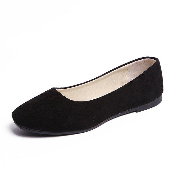 3 zapatos planos