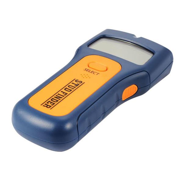Le professionnel 3 dans 1 détecteur de goujon tenu dans la main des détecteurs en bois en métal de fil en CA détectent le scanner de mur