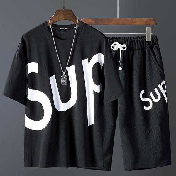 tute da uomo tute e tute da donna tuta Combinazione di nuovi pantaloncini e maniche corte da uomo di design magliette polo uomo