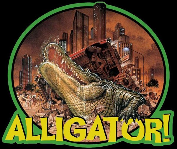80's Horror Cult Classic Alligator Poster Art custom tee Any Size Any Color Brand shirts jeans Print