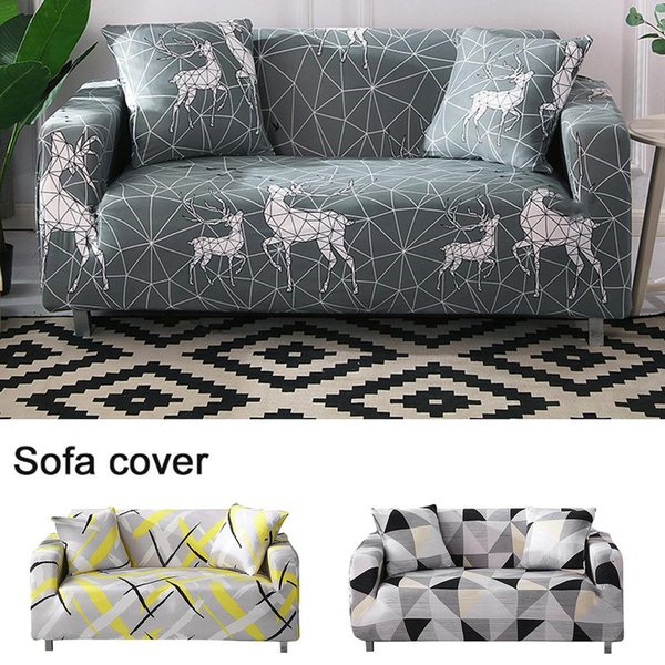 Brilliant Nordic Stretch Sofa Cover Anti Slip Soft Couch Cover Washable Furniture Protector With Anti Skid Foam And Elastic Bottom 30E Dining Room Chair Seat Forskolin Free Trial Chair Design Images Forskolin Free Trialorg
