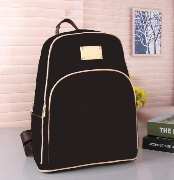 top popular Fashion Backpack Mick Style Discovery High Quality PU Leather Josh New Arrival Backpack Letter Bags Fashion Women Men School Bag 2020