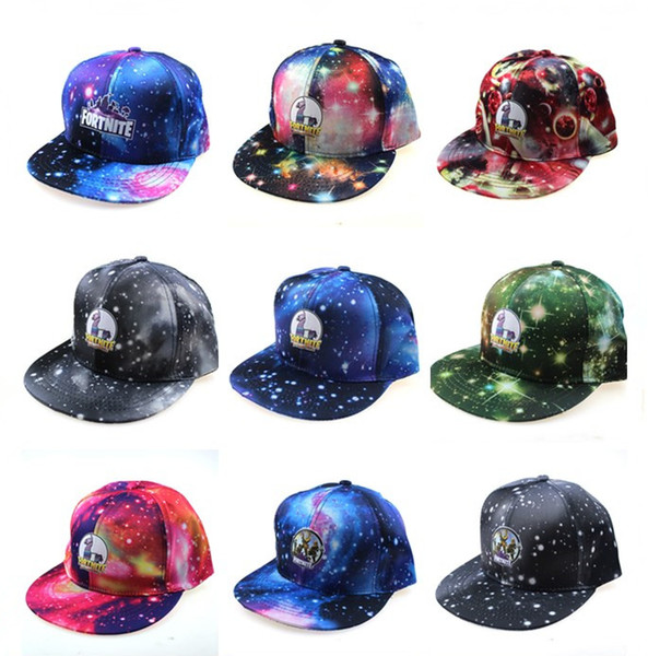best selling 24style Fortress night Adult Kids Hats Trucker Cap Design Fans Cool baseball cap Male Breathable hats Outdoor Sports Caps Christmas gift