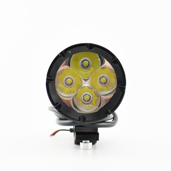 ightings Motorcycle Decorative Lamp 1 PCS Motorcycle LED Headlights 12V 40W Motorbike Spotlight Moto Driving Head Light 6000K Work Lamp H...