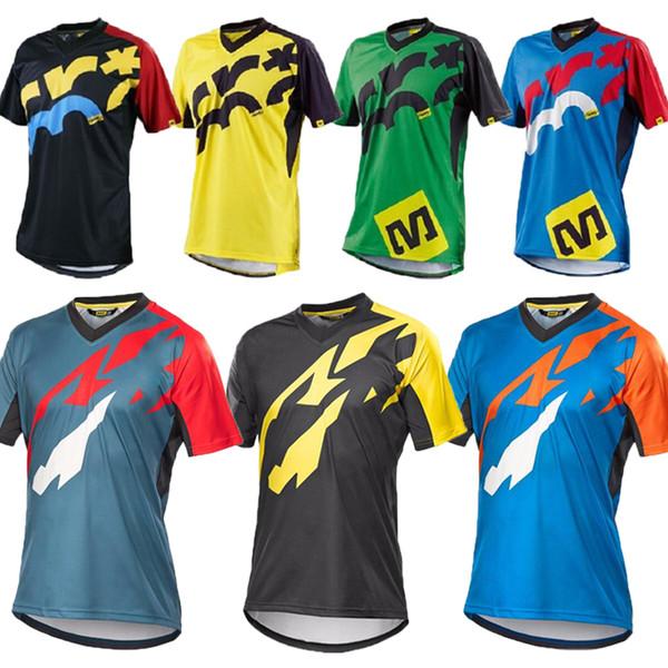 Short Sleeve Pro Cycling Jersey Offroad Bicycle Maillot MTB Shirt Downhill DH MX Uniform Mountain Bike Clothing Motocross Wear