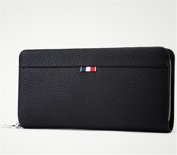 Designer Luxury 2019 Mens Wallet Business Handbag Zipper Cross Border Fashion Style Top Quality Hot Sell Designal PU Leather New Arrival Bag