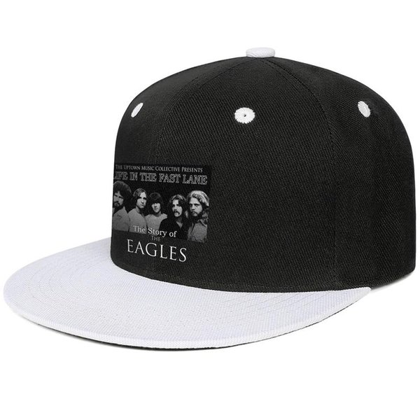 The story of the Eagles Design Hip-Hop Cap Snapback Flat Brim Dad Hats Street Style Adjustable