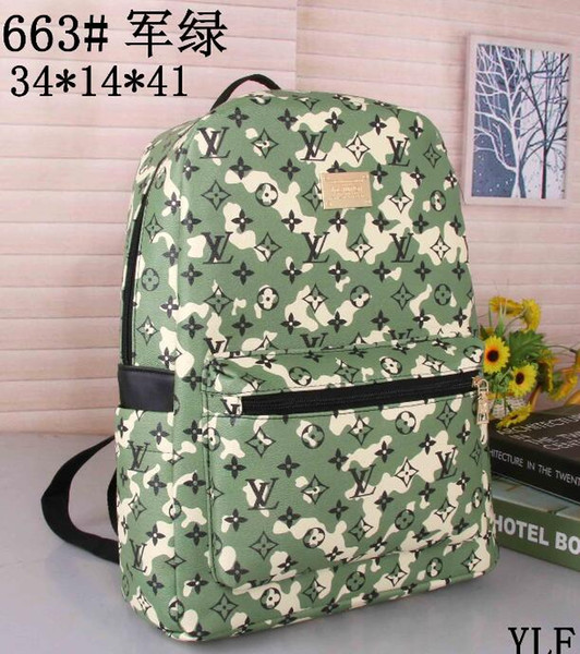 top popular 2018 hot New Europe Fashion Brand Women Bags Hot style Men Backpack Lady Bags 2019