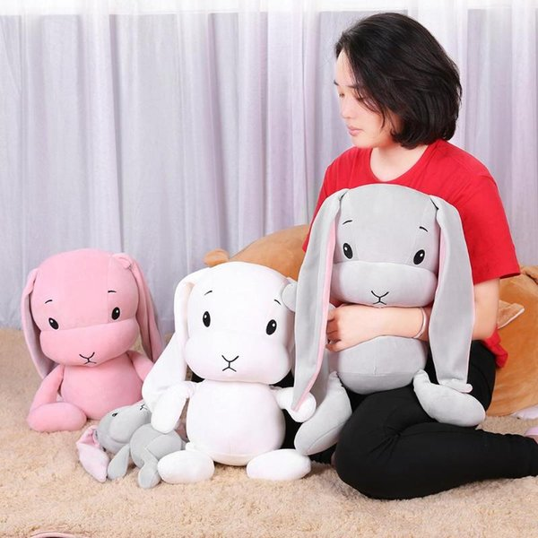 Cute Rabbit Bunny Baby Stuffed Doll Infant Plush Animal Accompany Sleep Toy Christmas gift Toys For Children