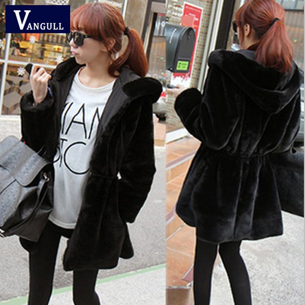 2018 New Winter Warm Faux Fur Coat Long paragraph Slim Leather Grass on both sides Wear Mink Fashion Casual Women's Fur Jackets