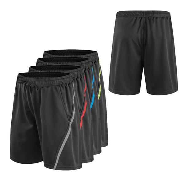 Pantalones cortos de fitness hombres Transpirable Seca rápida Pantalones cortos deportivos Hombres Fútbol Baloncesto Voleibol Gimnasio Hombres Pantalones cortos Ropa deportiva