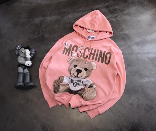 best selling Hotsale Luxury Designer Brand Mens Women Hoodie Sweater Embroid Bear Brand Long Sleeves Hoodie Pullover Street Sport Free Ship JB1 20031207L